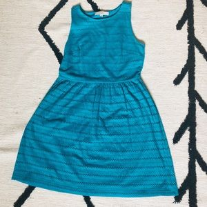LOFT Dresses - Loft Sleeveless Teal Dress - S